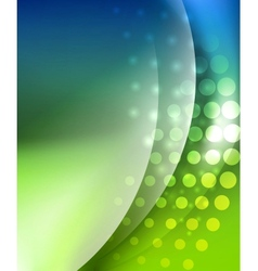 Wave abstract background vector image vector image