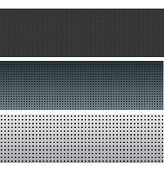 Textured pattern set vector image