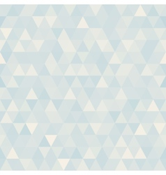 Abstract geometric triangle background Neutral vector