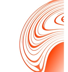 Abstract Orange Design vector