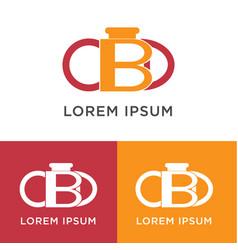bakery logo design vector image