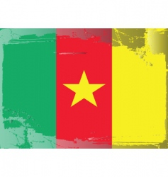 cameroon national flag vector image