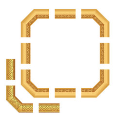 classic frame vector image