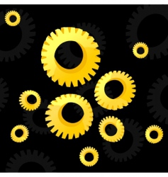 gear wheel2 vector image