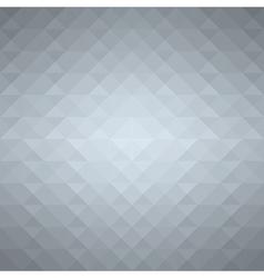 Grey geometric background vector image