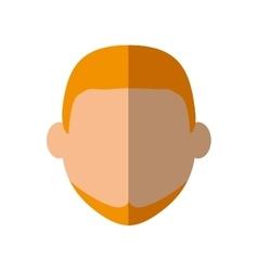 Man head icon Person design graphic vector