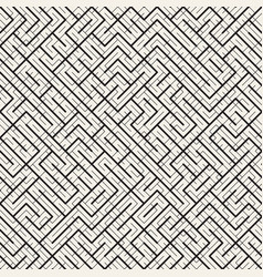 Maze line abstract geometric background design vector