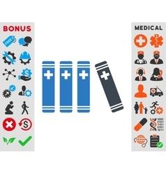 Medical Books Icon vector