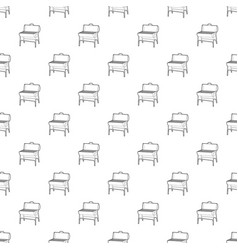 metal barbecue pattern seamless vector image