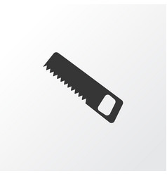 saw icon symbol premium quality isolated handsaw vector image