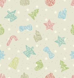 Seamless Texture for Happy New Year vector image