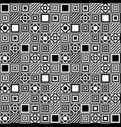 Simple seamless geometric pattern vector