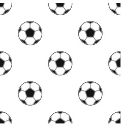 Soccer ball icon in black style isolated on white vector