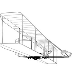 Wright brothers bw2 vector
