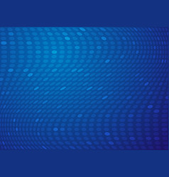 abstract gradient blue dot mesh technology vector image