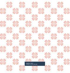 Abstract modern orange pattern background vector