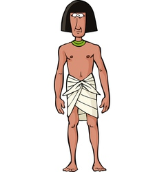 Ancient egyptian slave vector