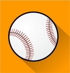 baseball ball vector image
