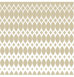 Golden halftone seamless pattern with mesh grid vector