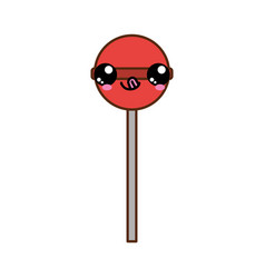Isolated lolly pop design vector