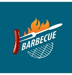 Logo barbecue vector