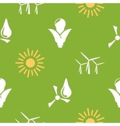 Renewable energy pattern vector