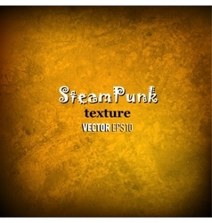 Steam punk texture background vector image