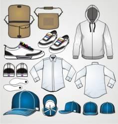 fashion clothing templates vector image