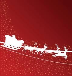 Santa Claus wallpaper vector image vector image