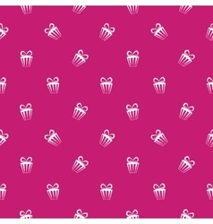 Colorful gift boxes pattern vector image vector image