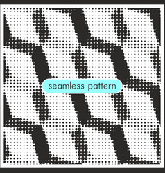 Seamless patterns with halftone dots 14 vector