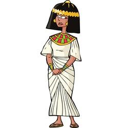 Ancient egyptian woman vector