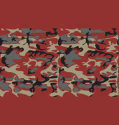 camouflage pattern background classic clothing vector image