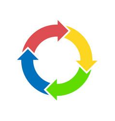 Circle diagram vector