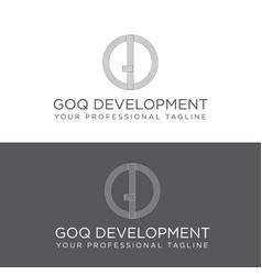 classic icon logo design vector image