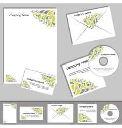 corporate design vector image