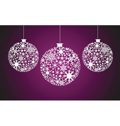 decorative Christmas vector image