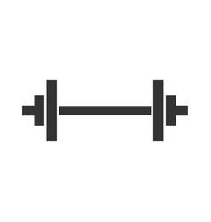 dumbbell icon barbel icon fitness sign vector image