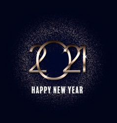 Glittery happy new year background 2311 vector