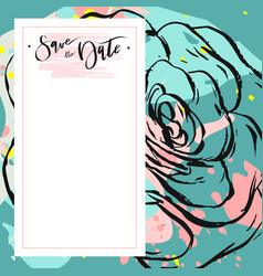 hand drawn abstract creative unusual vector image