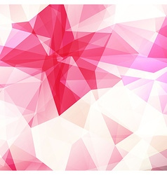Pink crystal diamond texture abstract background vector image
