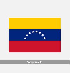 venezuela venezuelan national country flag banner vector image