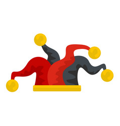 jester icon flat style vector image