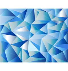 Icy background vector image vector image