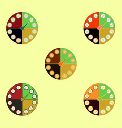 Twister classic party game collection vector
