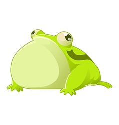 Cartoon toad vector image