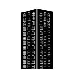 city building pictogram icon image vector image