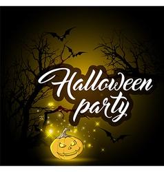 Design for Halloween party vector