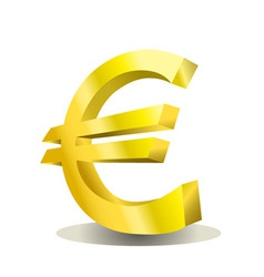 Euro design vector