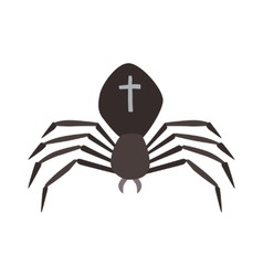 Spider Black Widow vector